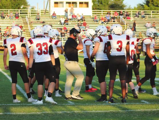 The Watonga Eagles were on the road Sept. 11 for their quarantine delayed season opener against Rush Springs. The Eagles took on a dominating Redskins team but were unable to take the win, going down by a score of 45-18 in the non-conference game. Next up for the Eagles at 7 p.m. Sept. 18 are the Minco Bulldogs at Minco. Kimberly Jenkins | Watonga Republican