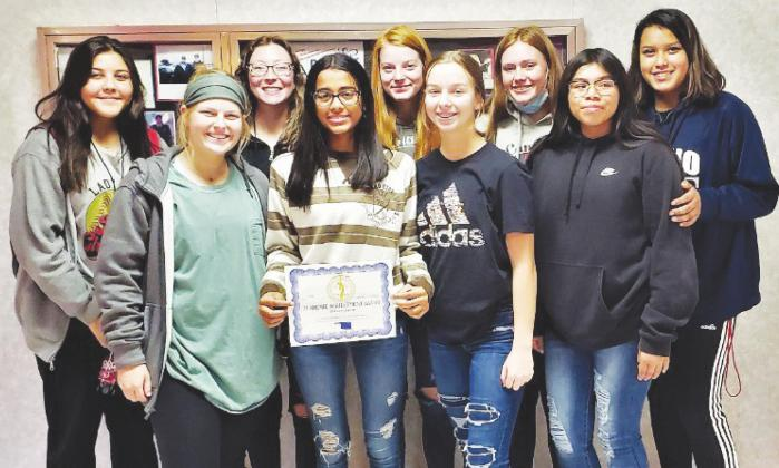 Lady Bison Recognized for Academic Achievement