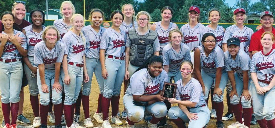 Lady Eagles Bring Home Trophy