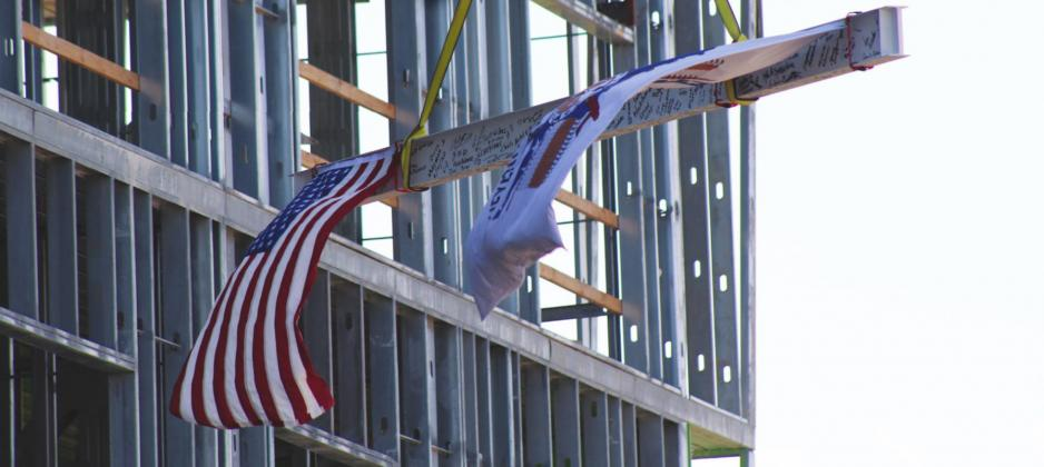 Last Beam Ceremony Held at Lucky Star Casino