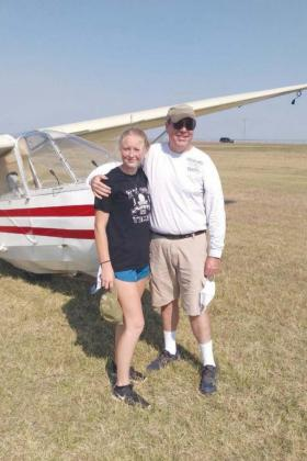 Edsall Completes First Solo Flight